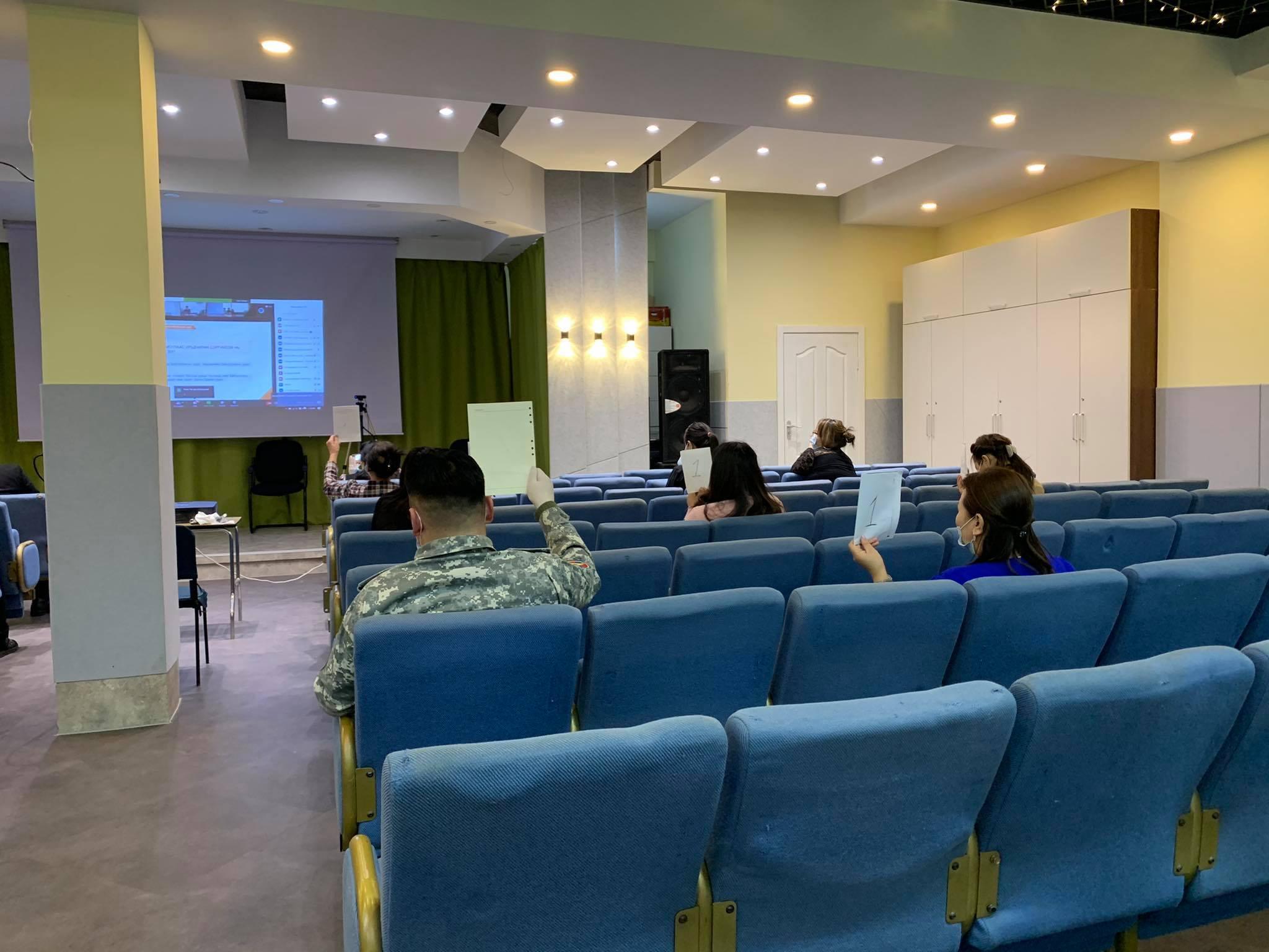 Байгууллагын гамшгийн менежментийн чадавхыг үнэлэх үнэлгээний аргачлалаар чиглүүлэгч бэлтгэх үнэлгээ хийх цахим сургалт